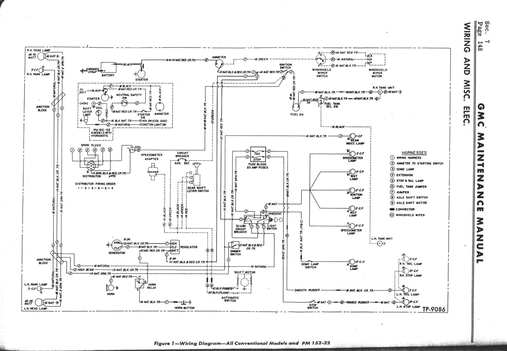 GMCWIRE_AllModels oldgmctrucks com technical stuff about old gmcs rolls royce silver shadow wiring diagram at pacquiaovsvargaslive.co