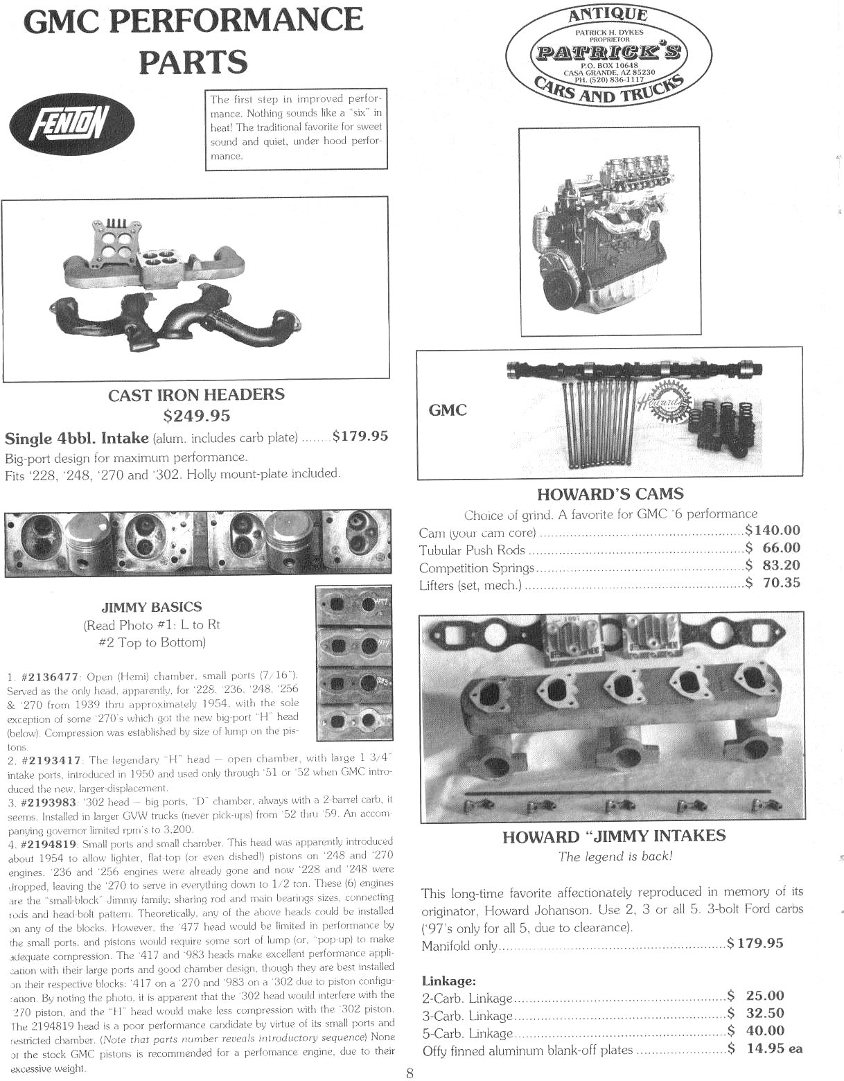 OldGMCtrucks com - 228 248 270 302 GMC Engine Tune Up